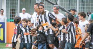 アトレチコ・ミネイロ時代のロナウジーニョ(Bruno Cantini/Clube Atlético Mineiro)