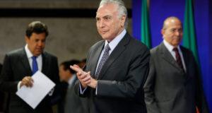 17日のテメル大統領(Alan Santos/PR)