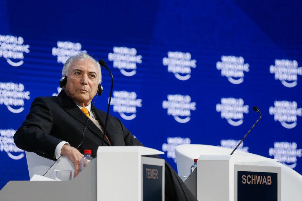 23日からダボス会議に参加するテメル大統領(Beto Barata/PR)