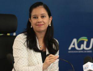 グラーシ・メンドンサ総弁護庁(AGU)長官(Marcello Casal Jr./Agência Brasil)