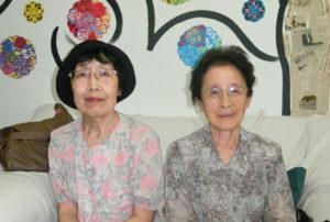 (左から)竹中さん、久保婦人部長
