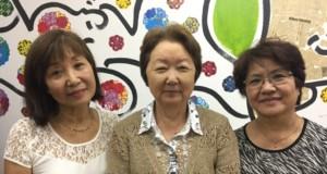 案内のため来社した中馬さん、西川さん、山城さん
