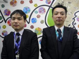 (左から)中野さん、藍原さん
