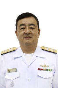 コガ少将(提供写真)