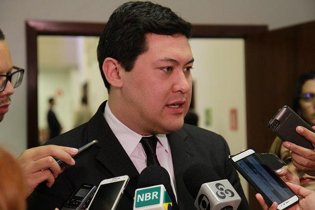 労働大臣に就任したヨムラ氏(Albino Oliveira - ASCOM)