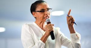 ルーラ不出馬時の支持を伸ばしたマリーナ氏(Elza Fiuza/Agência Brasil)