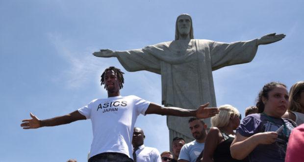 ブラジルは、豊かな観光資源を活かせば、国外からの旅行客による、ブラジル国内での支出も増え、旅行収支黒字化の可能性もある。(Gael Monfils no Cristo ©Fotojump)