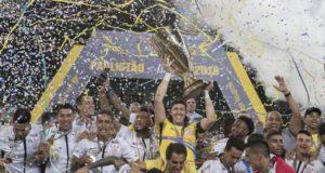 サンパウロ州選手権通算29回目の優勝を果たしたコリンチャンス(© Daniel Augusto Jr./Ag. Corinthians)