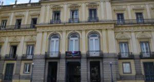 19世紀にブラジル王室も暮らした、現国立自然史博物館(Tomaz Silva/Agência Brasil)