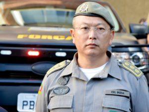 池田マリオ総司令官(出典=Brigada Militar Facebookページ)