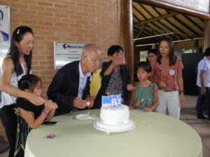 同日に81歳を迎えた松田さん
