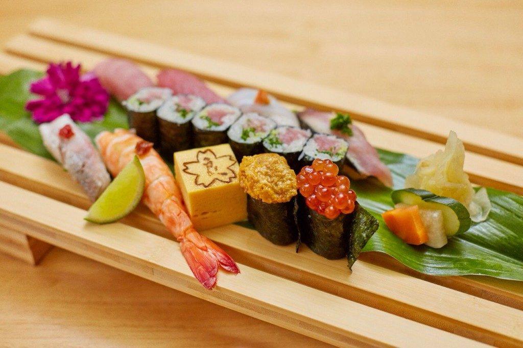 RYOの特上寿司(提供写真)