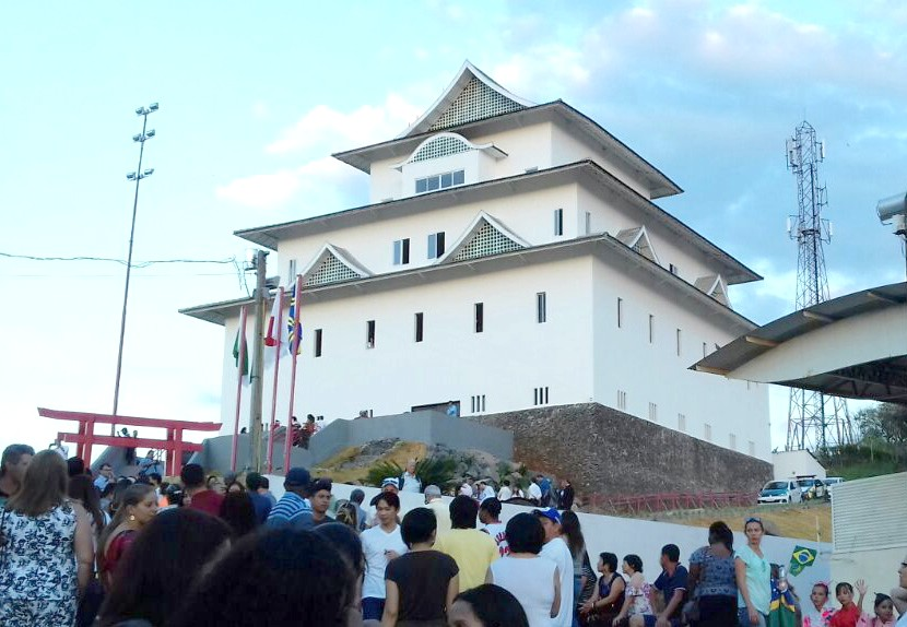 開城式の様子(吉田副会長提供)