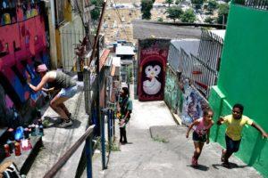 ドゥケ・デ・カシーアス市ヴィラ・オペラリア地区の様子(Tânia Rêgo/Agência Brasil)