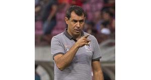 カリーリは、20日の試合が最後の指揮となった。(Daniel Augusto Jr./Agencia Corinthians)