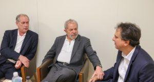 17年2月、ルーラ氏と会談した際のシロ氏(Ricardo Stuckert/Instituto Lula)