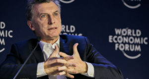 アルゼンチンのマクリ大統領(World Economic Forum/Benedikt von Loebell)