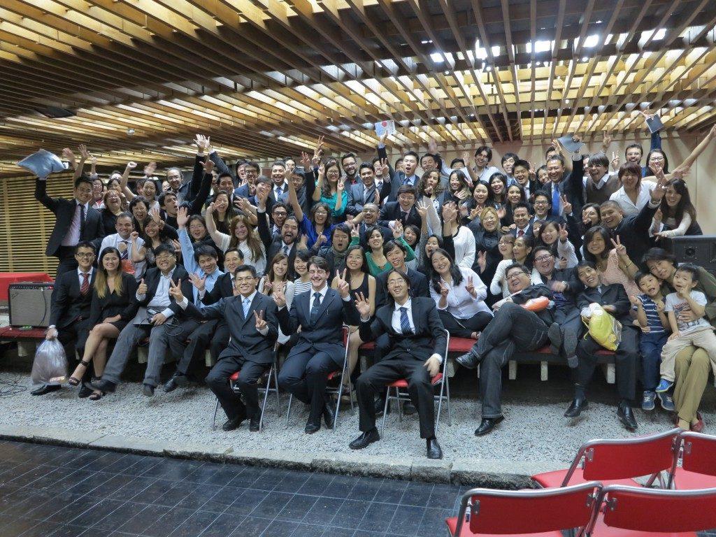 ASEBEX(日本留学生研修員ブラジルOB会)主催の「KOSHUKAI(講習会)」の様子