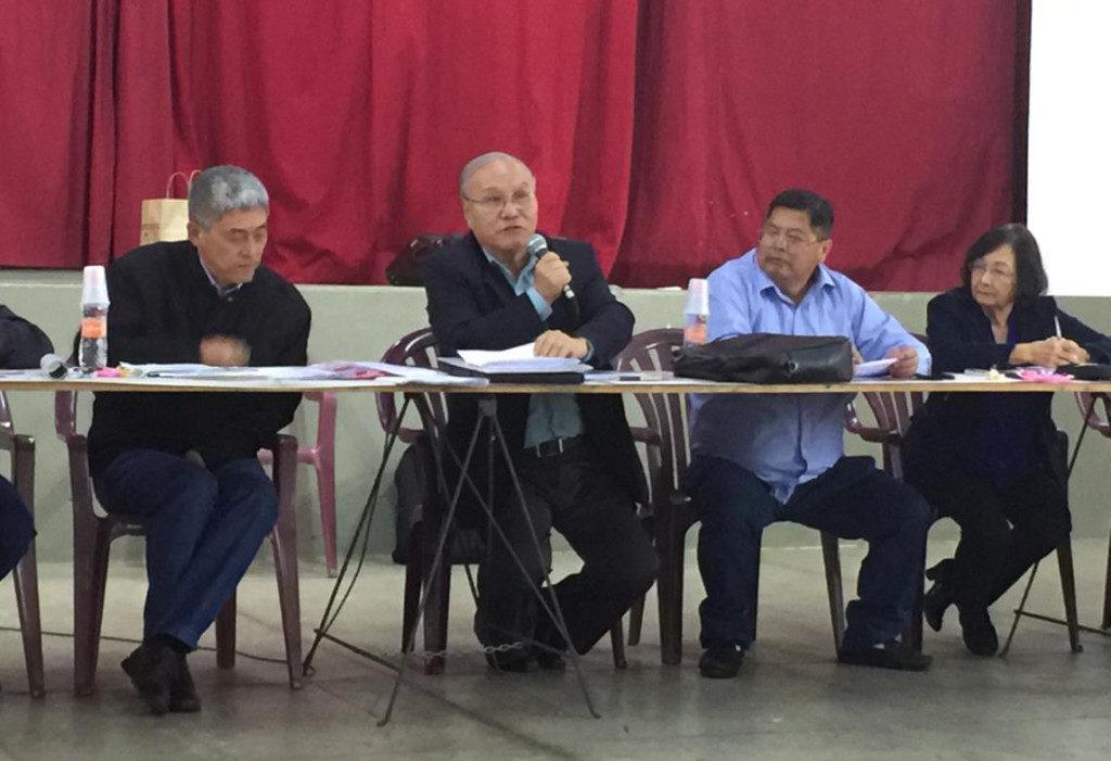 各団体同士のイベントへの参加を呼びかける山村会長