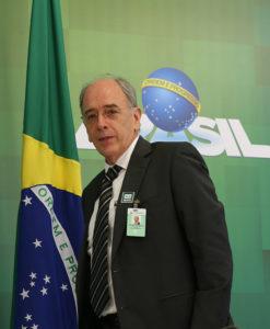 ペトロブラス総裁を辞任したパレンテ氏(José Cruz/Agência Brasil)