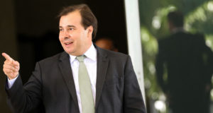 DEMのロドリゴ・マイア氏(Marcelo Camargo/Agencia Brasil)