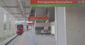 グァルーリョス空港駅(サンパウロ州政府)