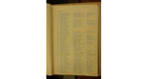 サントス強制立退き者の名簿(写真=松林要樹さん提供)
