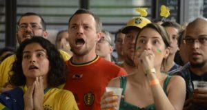 リオでブラジル人とベルギー人が共に観戦した(Tomaz Silva/Agencia Brasil)