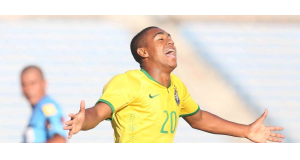 U20代表だった頃のマルコン(Rafael Ribeiro/CBF)
