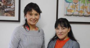 松本さん(左)と鎌谷さん
