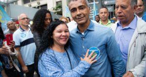 リオ州知事選に出馬しているロマーリオ候補(Ascom)