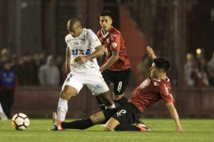 インデペンディエンテ戦に出場したサンチェス(Ivan Storti / Santos FC)