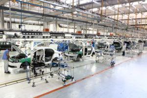ブラジルフォルクスワーゲン社工場の様子(参考画像・Comunicação Volkswagen do Brasil)