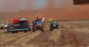 機械化された大規模農場(参考画像、Arquivo/Agência Brasil)