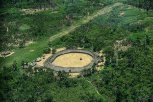 ロライマ州に住むヤノマミ族の集落の一つ(参考映像、Leonardo Prado/PGR)