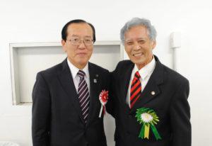 本田市長と千田会長