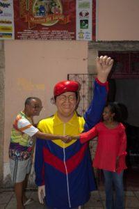 チャヴェス氏を称える銅像(Péricles Chagas/MST)