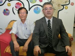 (左から)広瀬副会長、古藤副会長