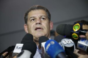 法務大臣かといわれるPSL党首代行グスターヴォ・ベビアンノ氏(Fernando Frazão/Agência Brasil)