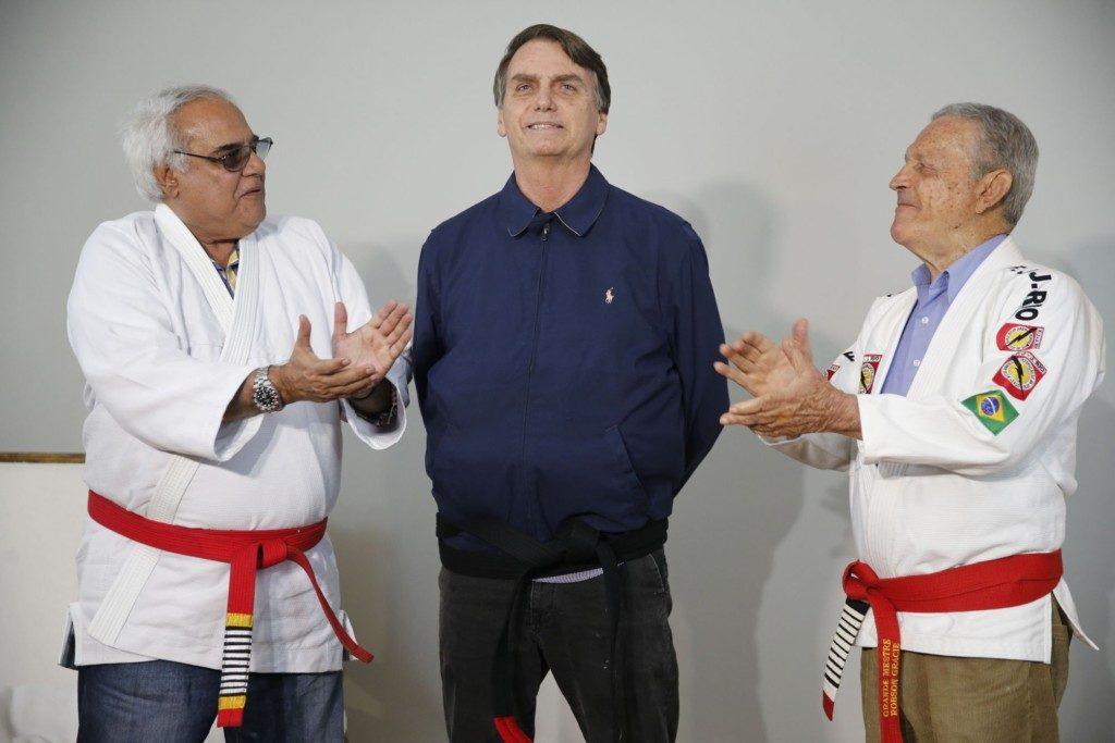 25日のボウソナロ氏(Fernando Frazão/Agencia Brasil)