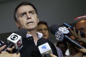 ボウロナロ大統領候補(Fernando Frazão/Agencia Brasil)