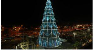 クリスマスツリーについて報じたG1サイトの記事の一部
