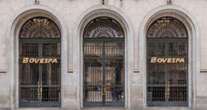 サンパウロ市のBovespa正門(WIKIMEDIA COMMONS)