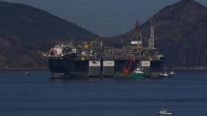 ペトロブラス社の海底油田採掘場(参考画像・Tanio Rego/Agencia Brasil)