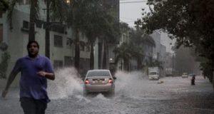 ごみ放置などで排水溝が詰まりやすいブラジルでは、極めて頻繁に大水が発生する(参考画像・Marcelo Camargo)