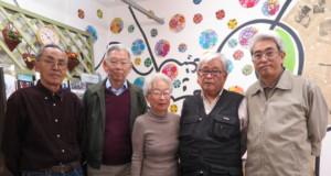 岸さん、田中さん、松島さん、近藤敏さん、直人さん