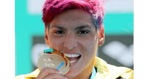 今年の最優秀女子スポーツ選手賞に輝いた、アナ・マルセラ・クーニャ(Satiro Sadre/SSPress/CBDA)