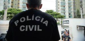 犯罪組織の一斉摘発に参加した市警(Tania Rego/Agencia Brasil)
