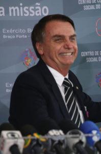 ボルソナロ次期大統領(Jose Cruz/Agencia Brasil)