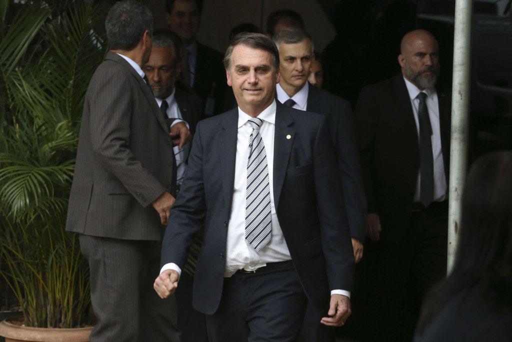 ジャイール・ボウソナロ次期大統領(Valter Campanato/Ag. Brasil)